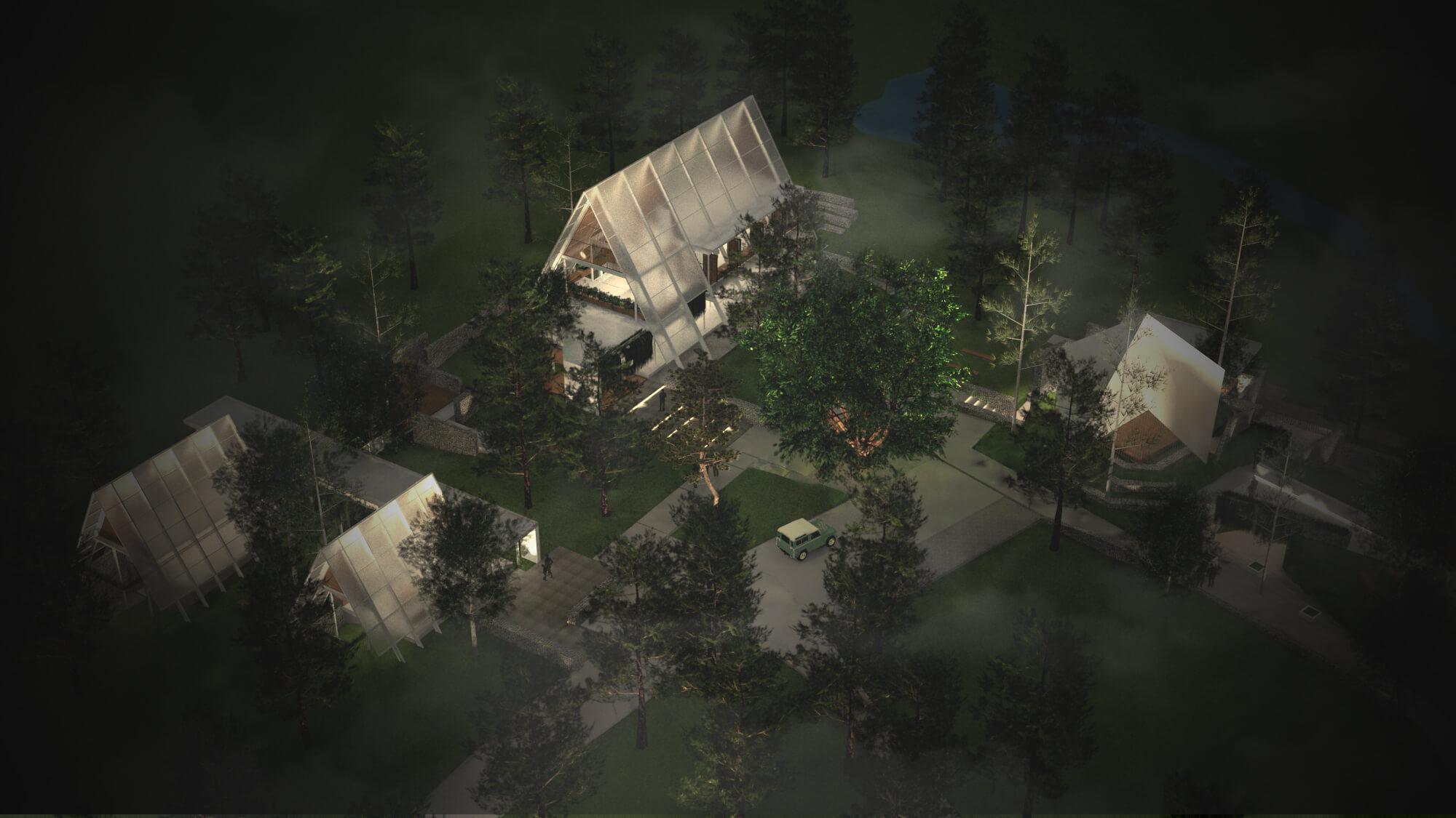 Bunga Hutan Camping Ground – malam