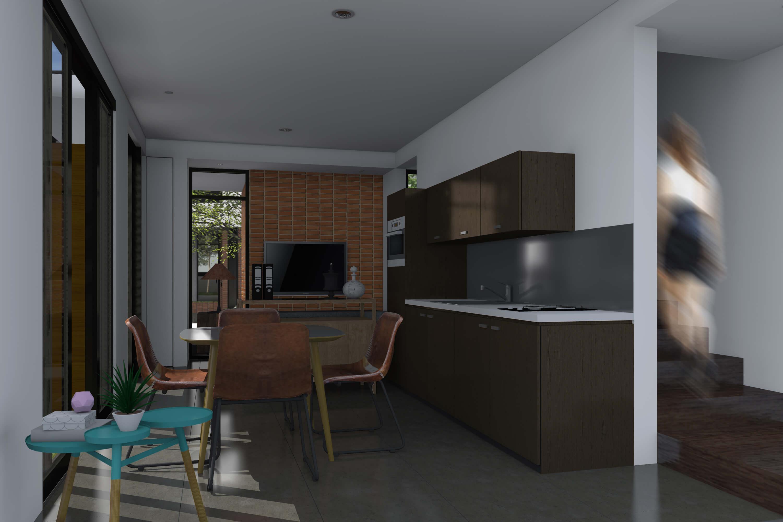 Rumah Cluster Bintaro 4